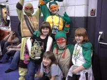 TMNT Photo Shoot in Dealer Room